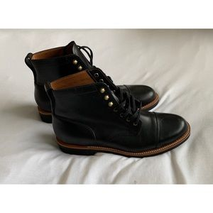 JCREW- Brand new men's leather boots